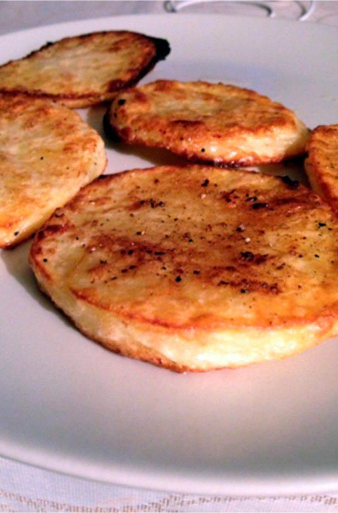 Patatas a la vinagreta sin lactosa