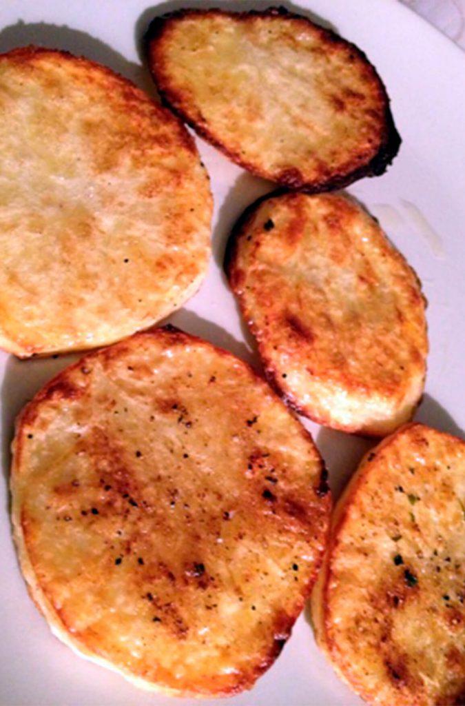 Receta de patatas a la vinagreta sin lactosa