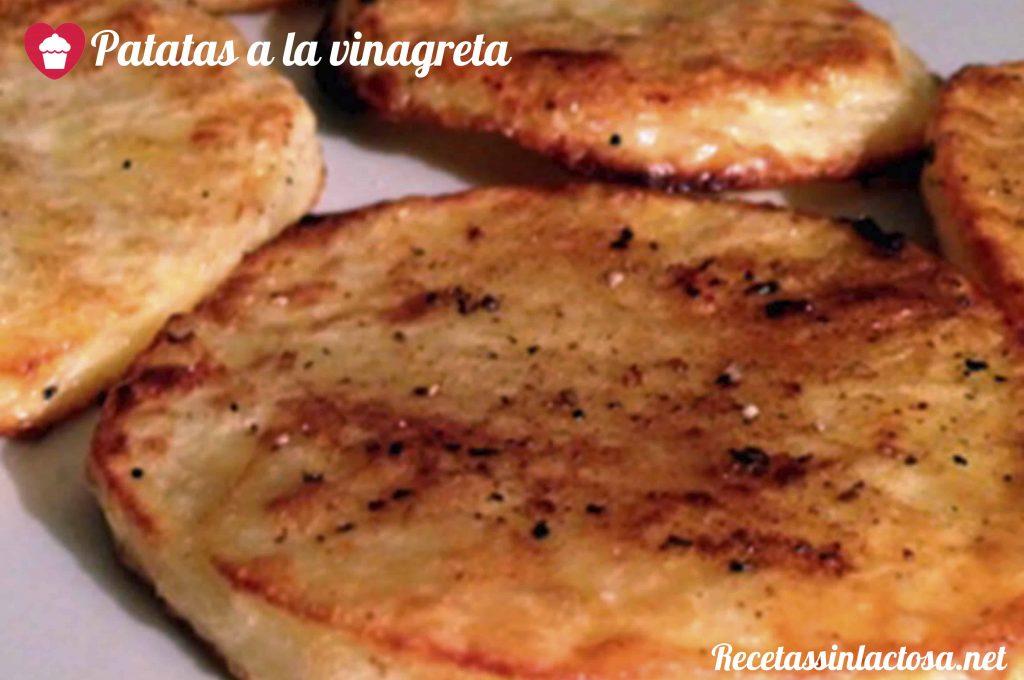 Receta sin lactosa Patatas vinagreta