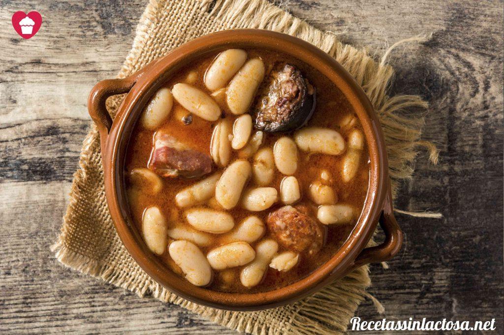 Receta de Fabada Asturiana Sin Lactosa