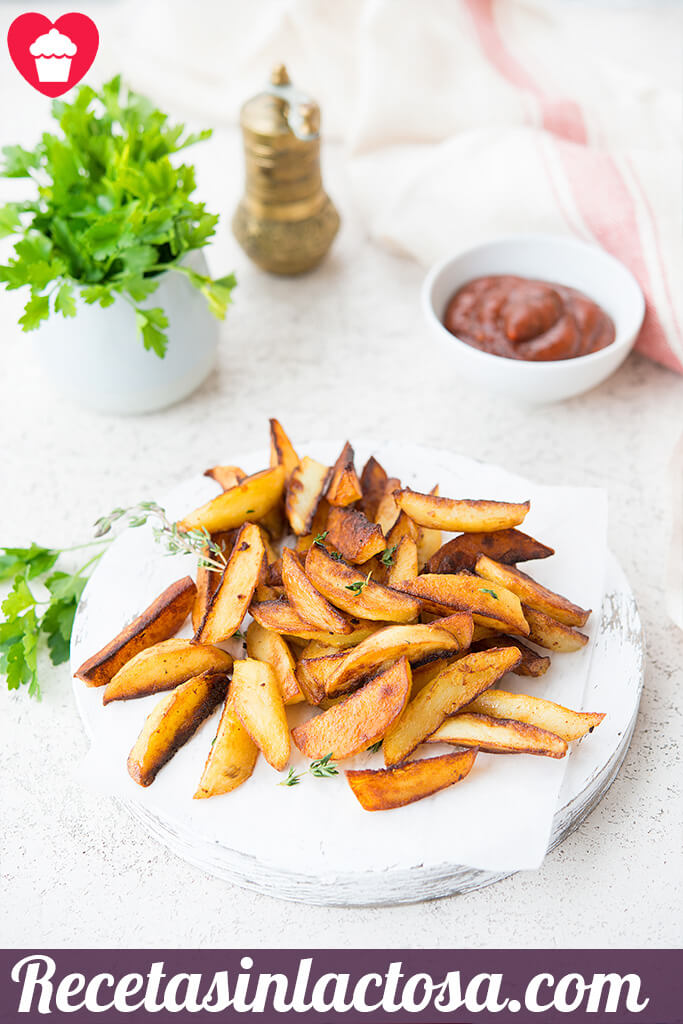 Patatas fritas provenzal