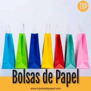 Bolsas de Papel para tiendas y restaurantes