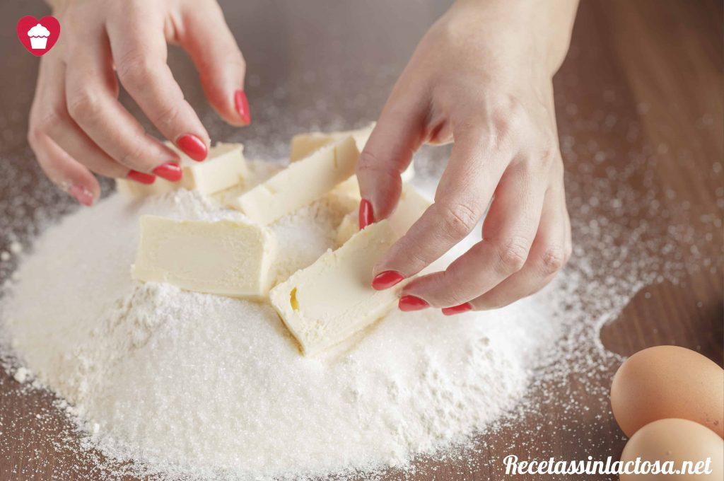 3 Receta masa quebrada sin lactosa