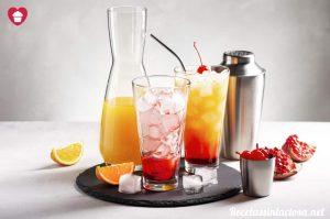 Receta Tequila Sunrise