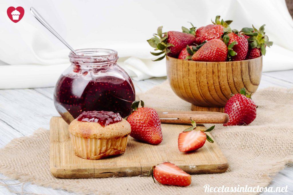 receta de mermelada de fresas y vainilla sin lactosa