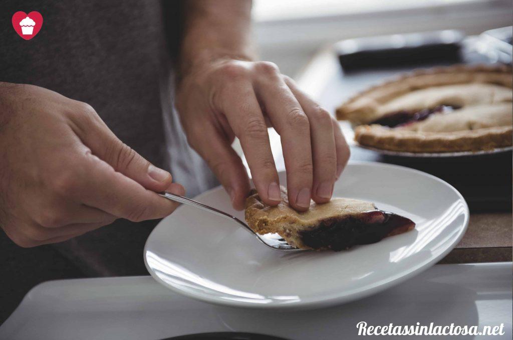 Receta masa quebrada sin lactosa salada