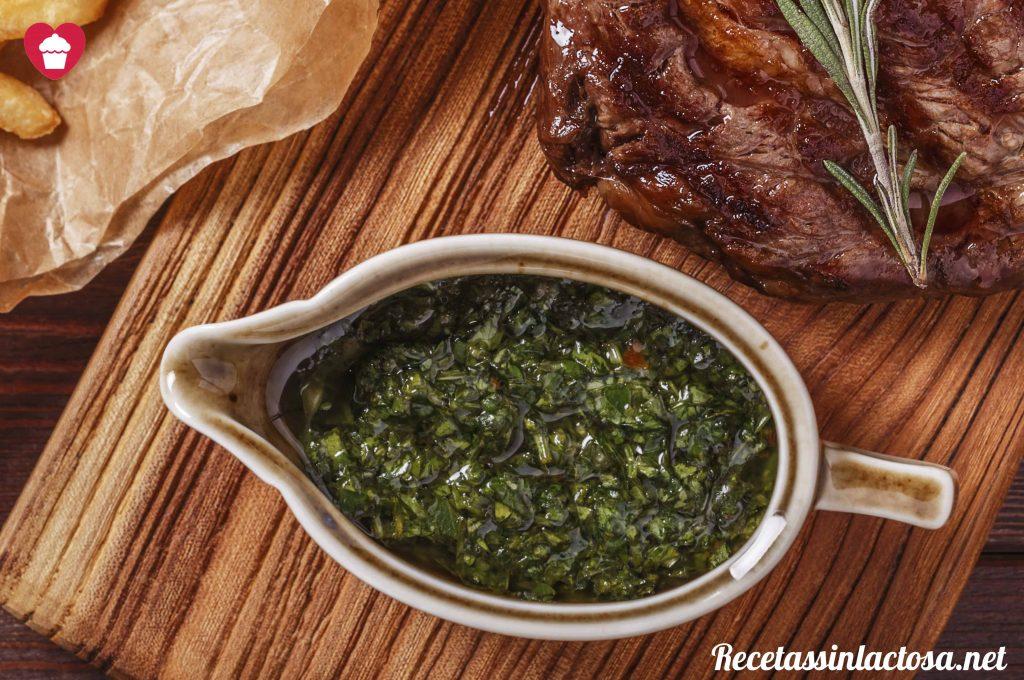 Salsa Chimichurri para carnes