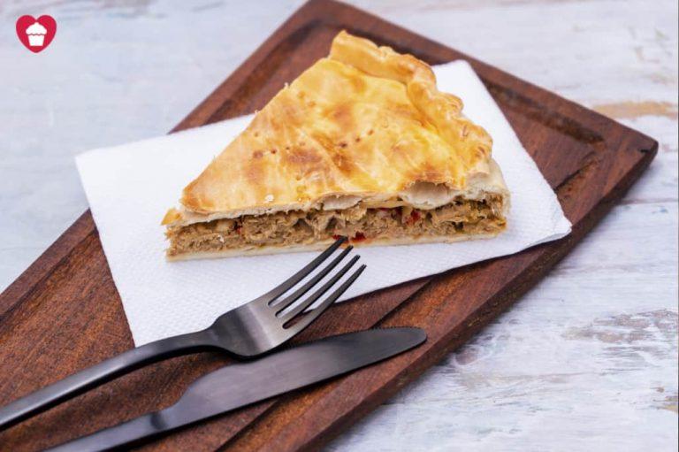 Receta de empanada gallega sin lactosa