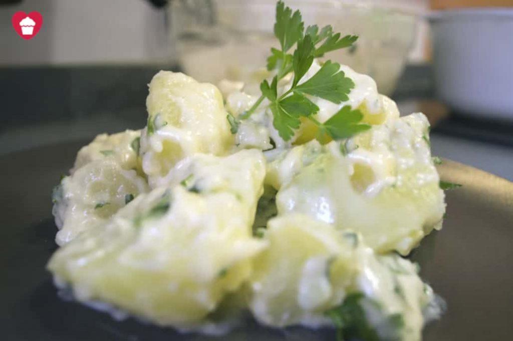 Patatas Alioli caseras sin lactosa
