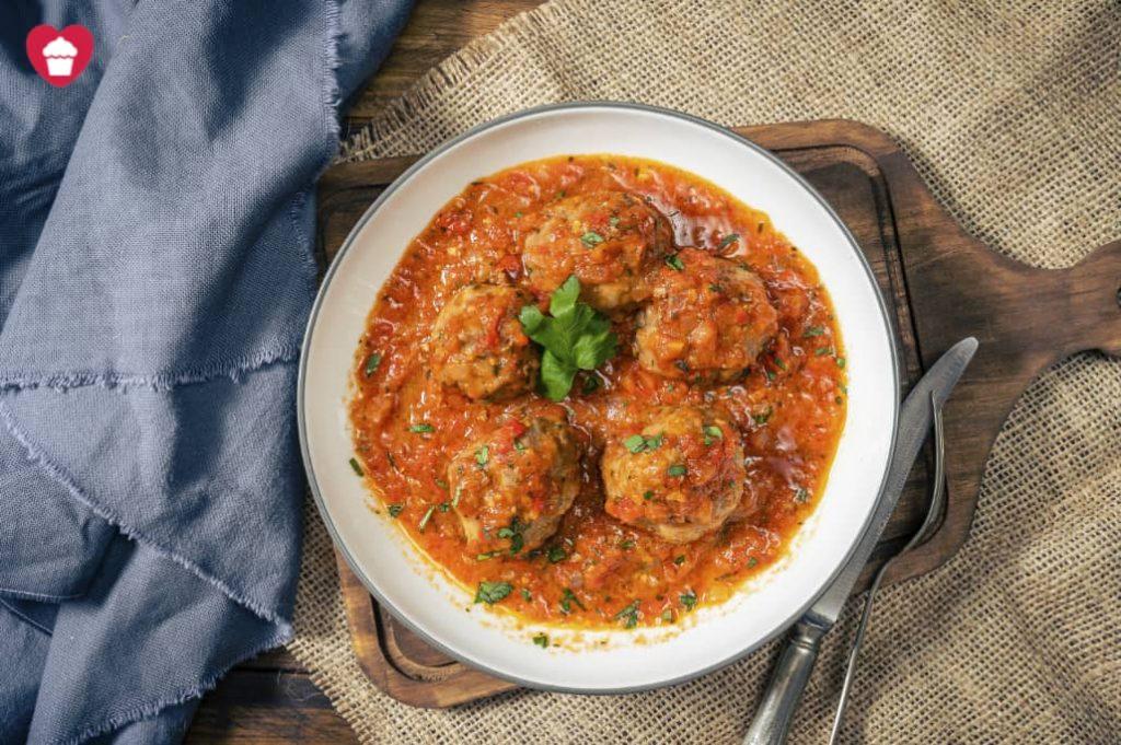 Albóndigas en salsa castellana sin lactosa