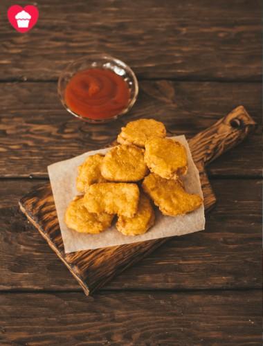 Nuggets de pollo Caseros - sin lactosa
