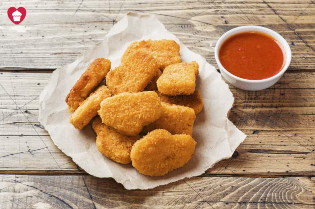Receta de Nuggets de pollo sin lactosa